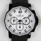 CORUM, Admiral´s Cup, Black Chronograph 40 Diamonds