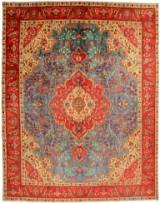 Persisk Tabriz tæppe, 380X295 cm.