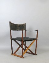 Mogens Koch, faltbarer Stuhl / Regiestuhl Modell MK 16 für Interna