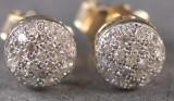 Diamantørestikkere ca. 0,38 ct., et par (2)