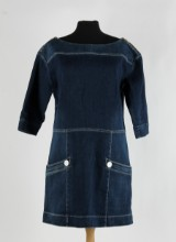 Louis Vuitton, jeansklänning, strl. 42