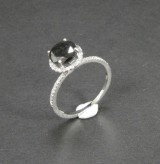 White gold ring with diamond, approx. 1.60 ct.