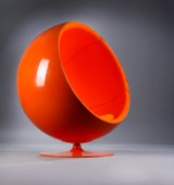 Eero Aarnio. Lounge chair, 'Ball Chair'