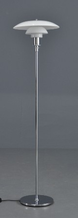 Poul Henningsen. PH Stehlampe Modell PH 3½ / 2½