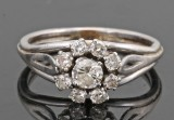 18kt. diamond ring approx. 0.62ct