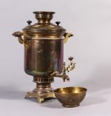 Samovar, mässing, 1800-tal