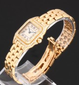 Cartier Panthere Lady. Ladies, 18 kt., with diamonds