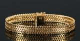 Armbånd af 14 kt guld