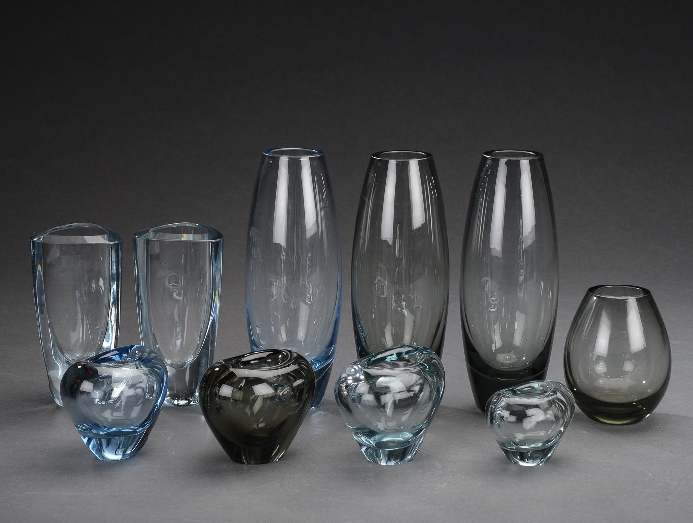 holmegård glas vaser