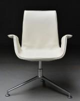Preben Fabricius og Jørgen Kastholm. 'Tulip' chair