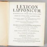 Lexicon Lapponicum 1780