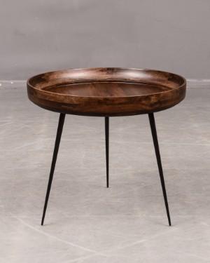 mater bord Bowl bord' av Mater, tillverkat i mangoträ Denna vara har satts  mater bord