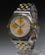 Breitling Chronomat men's watch, steel and gold, ref. 81.950