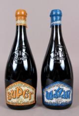 24 fl.  Baladin øl, bestående af 12 fl. Super samt 12 fl. Wayan. 75 cl. (24)