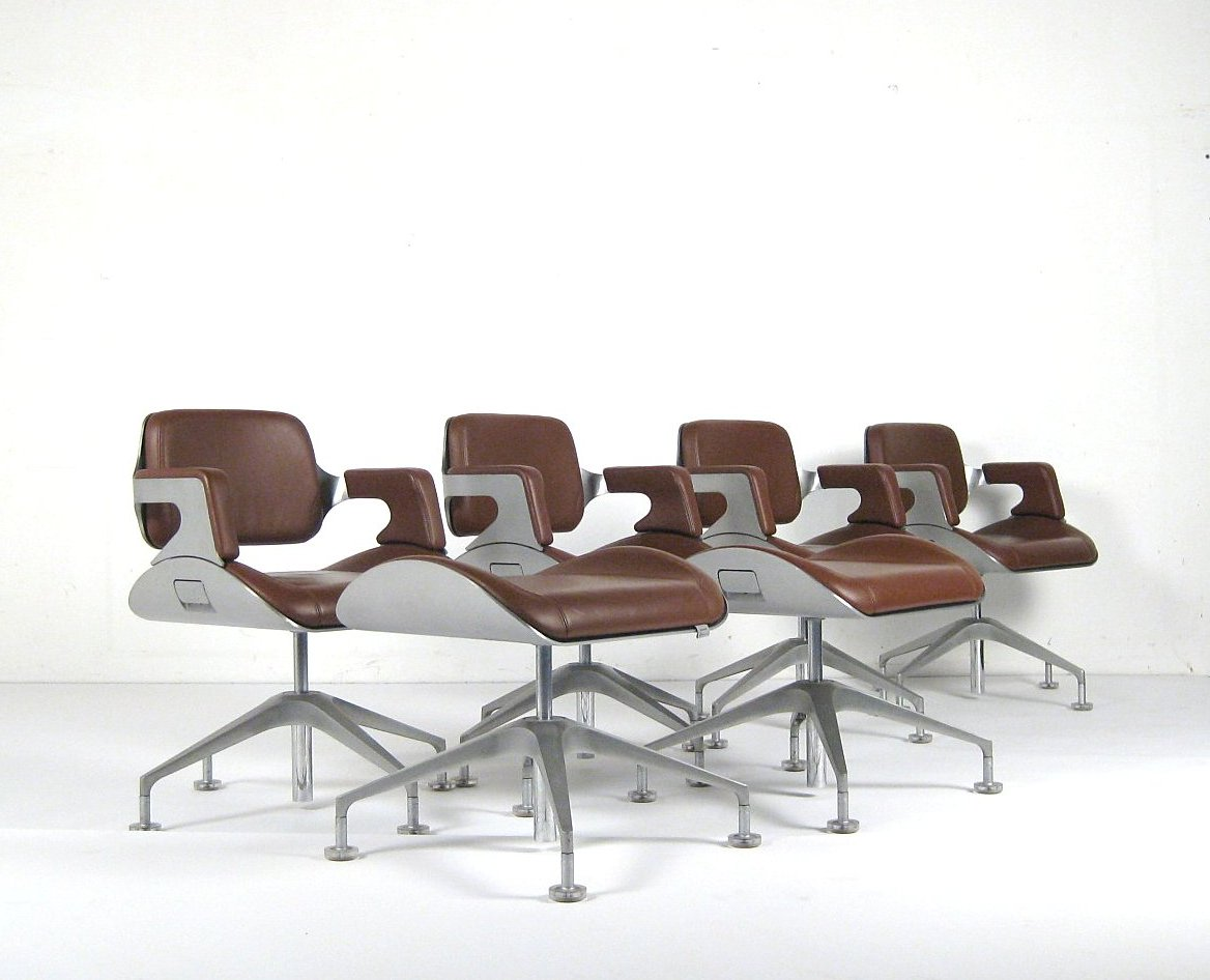 Auktionstipset - Hadi Teherani & Hans-Ullrich Bitsch, Set Stühle ...