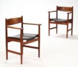 H.J. Wegner. Par armstole, teaktræ, model CH39 (2)
