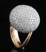 18kt diamond ring approx. 2.00ct & 9.62gr