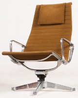 Charles & Ray Eames, aluiminium chair/lounge chair/office chair from the Aluminium Group Series EA124 for Herman Miller