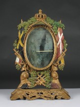 Spegel, gjutjärn, 1800-talets senare del