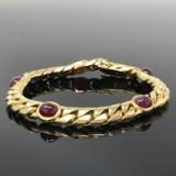 Rubin Armband