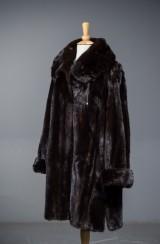 Levinsky fur jacket, swing model, approx. size 40-42