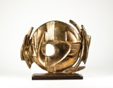 Bertil Gadö. Sculpture, bronze, signed and numbered