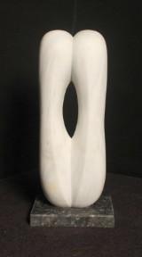 Alphons Heinze, marmorskulptur