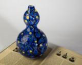 An Axel Salto vase, Bing & Grøndahl, porcelain, world exhibtion, Paris 1925