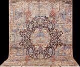 Carpet, figural Kashmar, 395 x 310