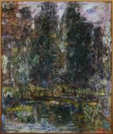 Åke W Andersson oljemålning