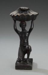 Figur af bronze