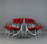 Oscar Tusquets, set of chairs model Lucas for Driade (6)