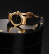 Hublot MDM Classic. Ladies watch, 18 kt. gold with date