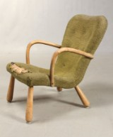 Attributed to Philip Arctander. 'Clam Chair'