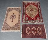 Tre håndknyttede tæpper (3)
