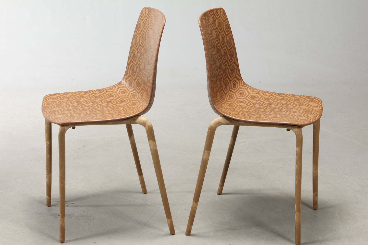 Stefano Sandona. Four Alhambra Eco chairs (4) |