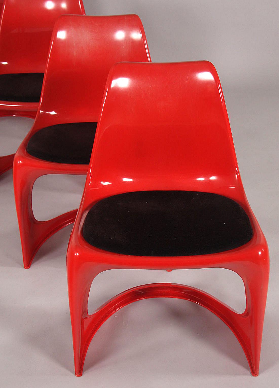 Steen Østergaard for cado. Sæt på fire stole (4) |