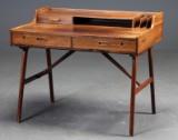 Arne Wahl Iversen. Desk, Brazilian rosewood, model 56