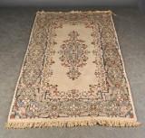 Handknuten matta, Kirman, 212x127 cm