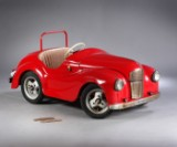 Austin J40 Roaster, pedal car (model Junior - Joycars), sheet metal with chrome trim