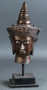 Skulptur forestillende Shiva