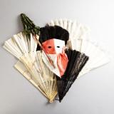 Solfjädrar parasoll teatermask