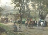 Louis Braun, olie på lærred, 'Wehrpflicht'