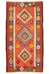 Persisk Kermanshah Keilim, 275 x 147 cm.