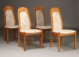 Holstebro møbelfabrik, spisestole, massivt teak (4)