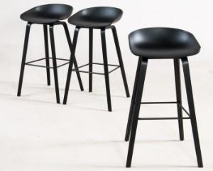 Bar Stühle hee welling drei barstühle barhocker about a stool aa s32 für hay