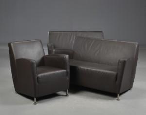 Sofa Samt to sofa samt lænestol 3 lauritz com