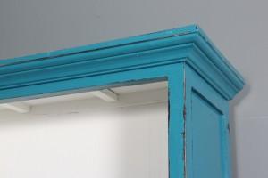 ware 3087724 b cherregal blau antikbemaltes holz. Black Bedroom Furniture Sets. Home Design Ideas