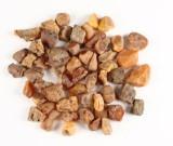 Uforarbejdet dansk rav, ca. 449 gram