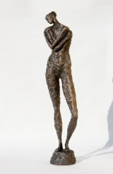 Liné Ringtved Thordarson. 'Serenity'. Sculpture, bronze